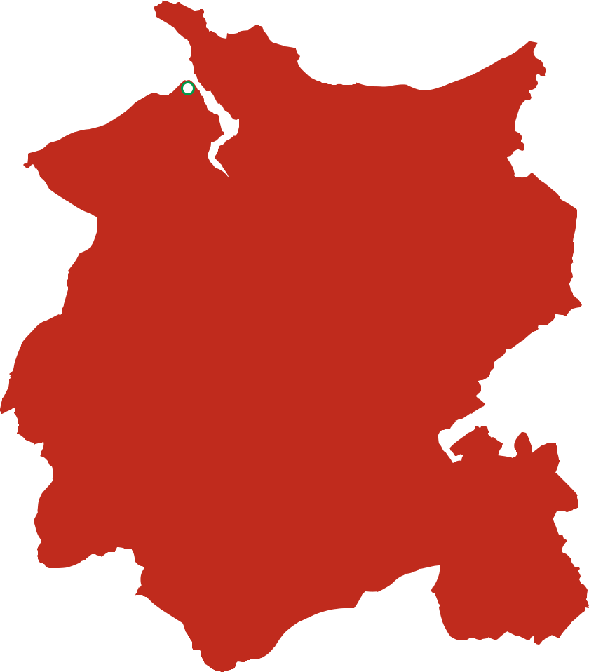 Conwy County Map
